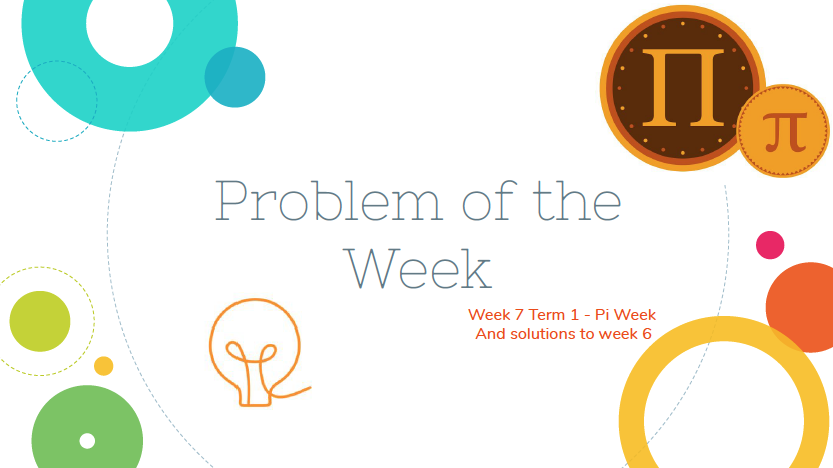 Problem of the Week  - Week 7